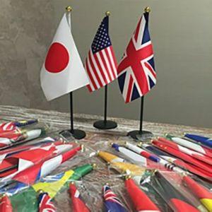 外国卓上旗