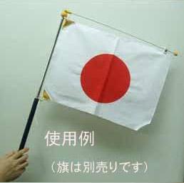 使用例。旗は別売りです。