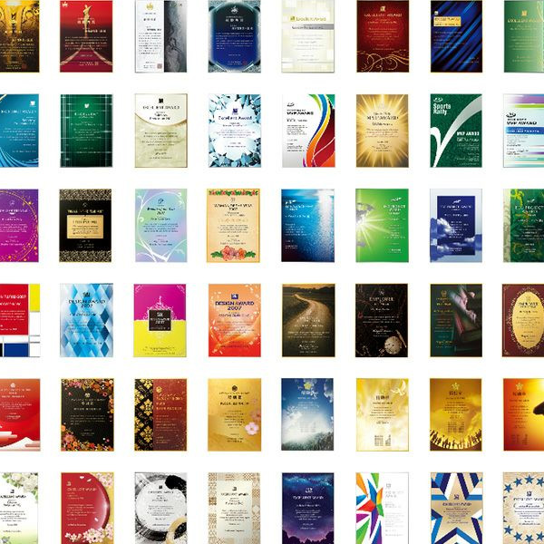 40種類以上のデザインから選べます