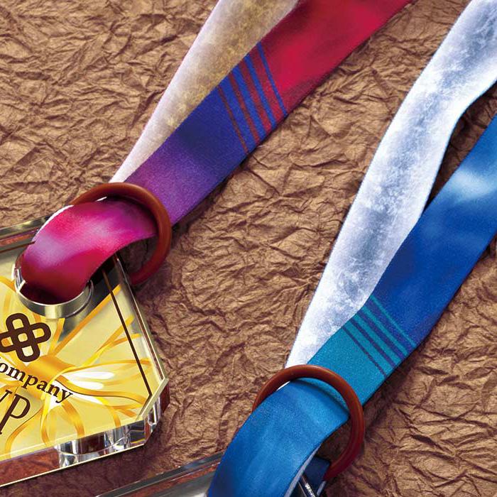 専用のメダルリボン。