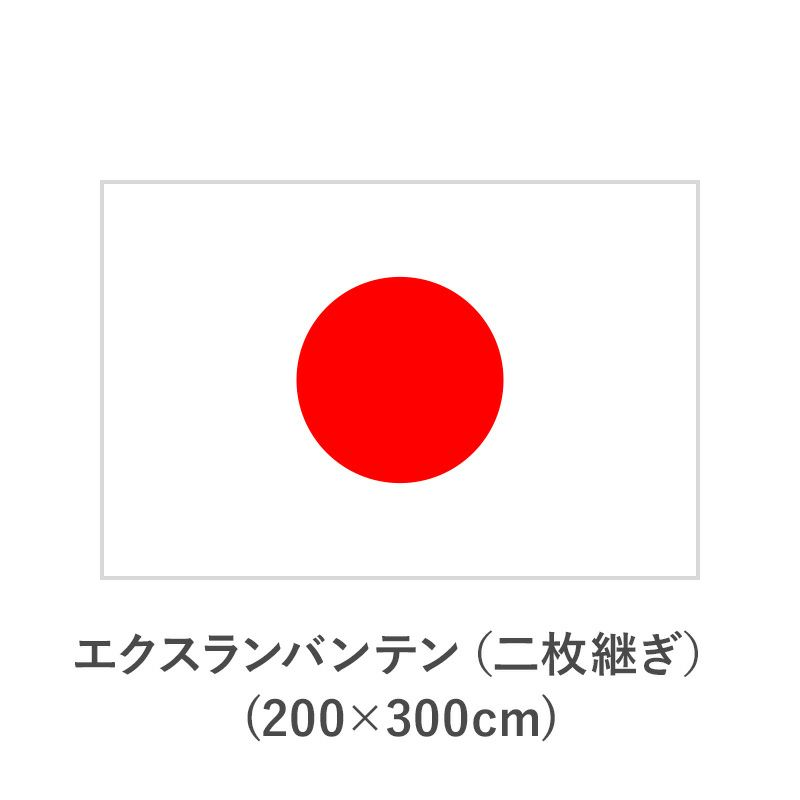 国旗 エクスランバンテン(二枚継ぎ)(200×300cm)  TNA-KOKKI-345