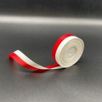 テープカット用テープ 紅白振分リボン大(24mm巾×30m)