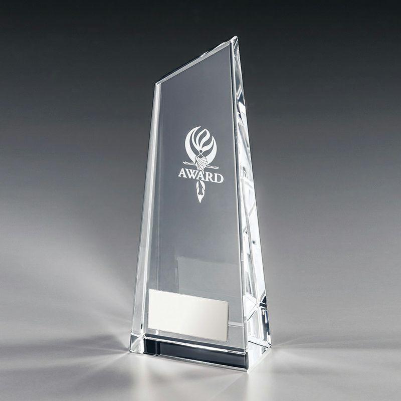 クリスタルサンドトロフィー(既成ロゴ)VSH-VT3130-C(高さ 190mm)