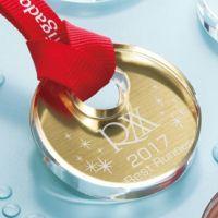 クリスタルメダル WIN-ZNA-9044(直径60mm) 金