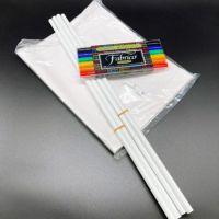 手作りゲートフラッグキット・ペンセット(無地旗+ポール+布用ペン付)