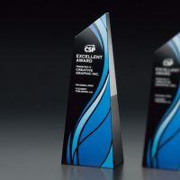 ファインカラーガラストロフィー・ブラック VSH-VOT.210BL-A (215mm)