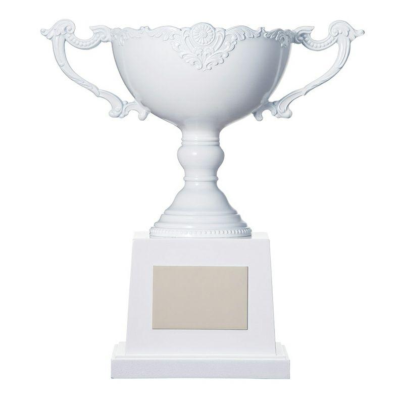 紅白優勝カップ・白 VSH-HP-1002-A (高さ 198mm)